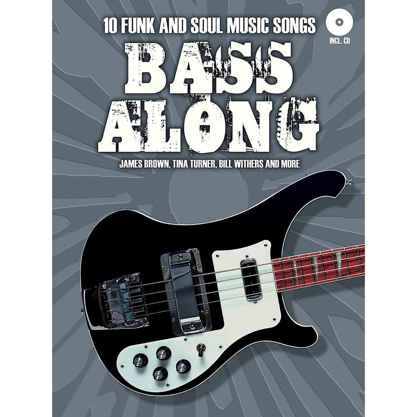 Music Sales Bass Along - 10 Funk and Soul Music Songs Book/CD thumbnail
