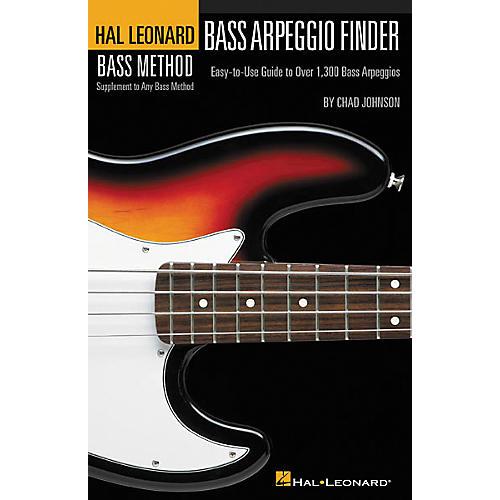 Hal Leonard Bass Arpeggio Finder Book thumbnail