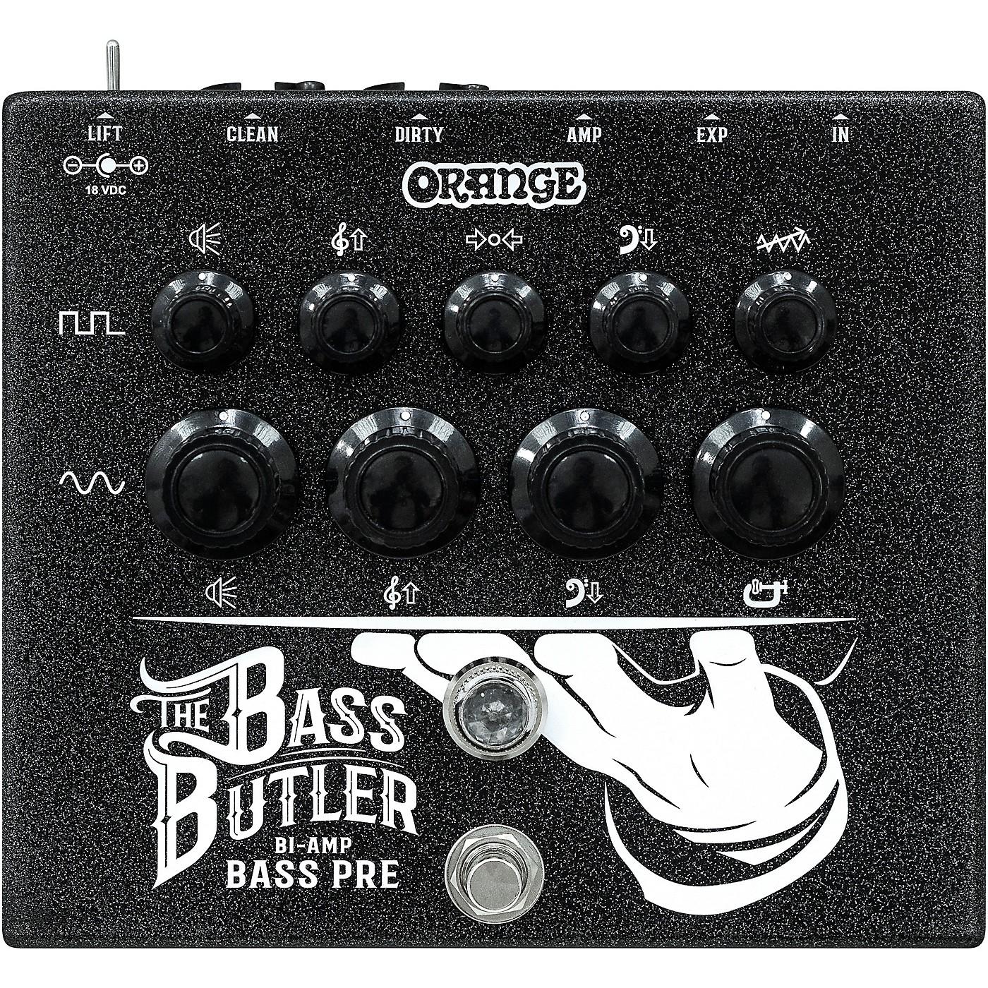 Orange Amplifiers Bass Butler Bi-Amping DI Pedal thumbnail
