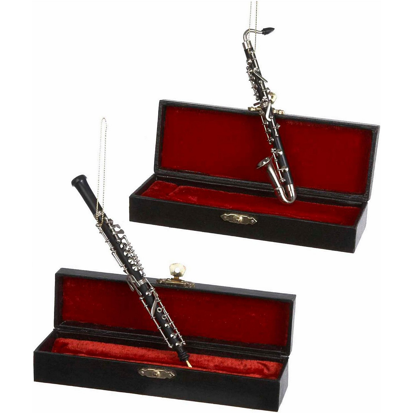 Kurt S. Adler Bass Clarinet/Oboe Ornaments thumbnail