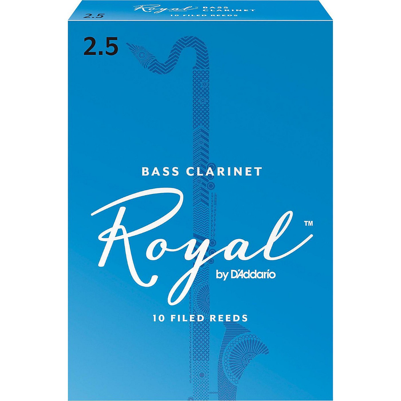 Rico Royal Bass Clarinet Reeds, Box of 10 thumbnail