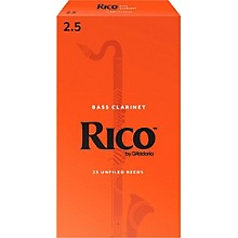 Rico Bass Clarinet Reeds, Box of 25