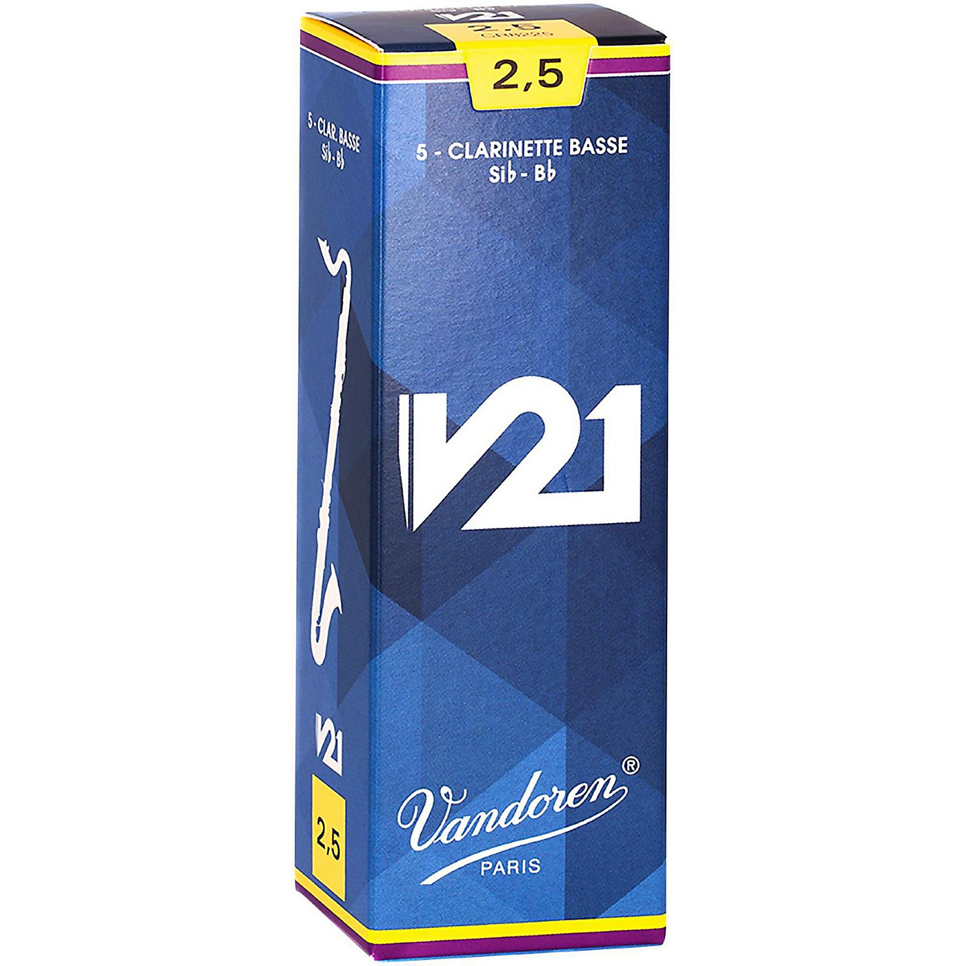 Vandoren Bass Clarinet V21 Reeds Box of 5 thumbnail