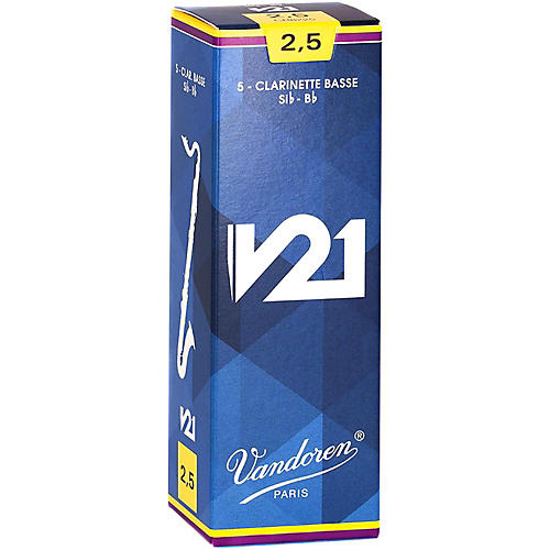 vandoren bass clarinet v21 reeds box of 5 woodwind brasswind. Black Bedroom Furniture Sets. Home Design Ideas
