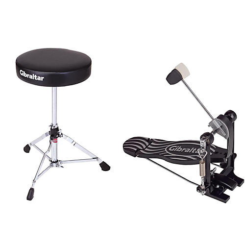 Gibraltar Bass Drum Pedal & Drum Throne Package thumbnail