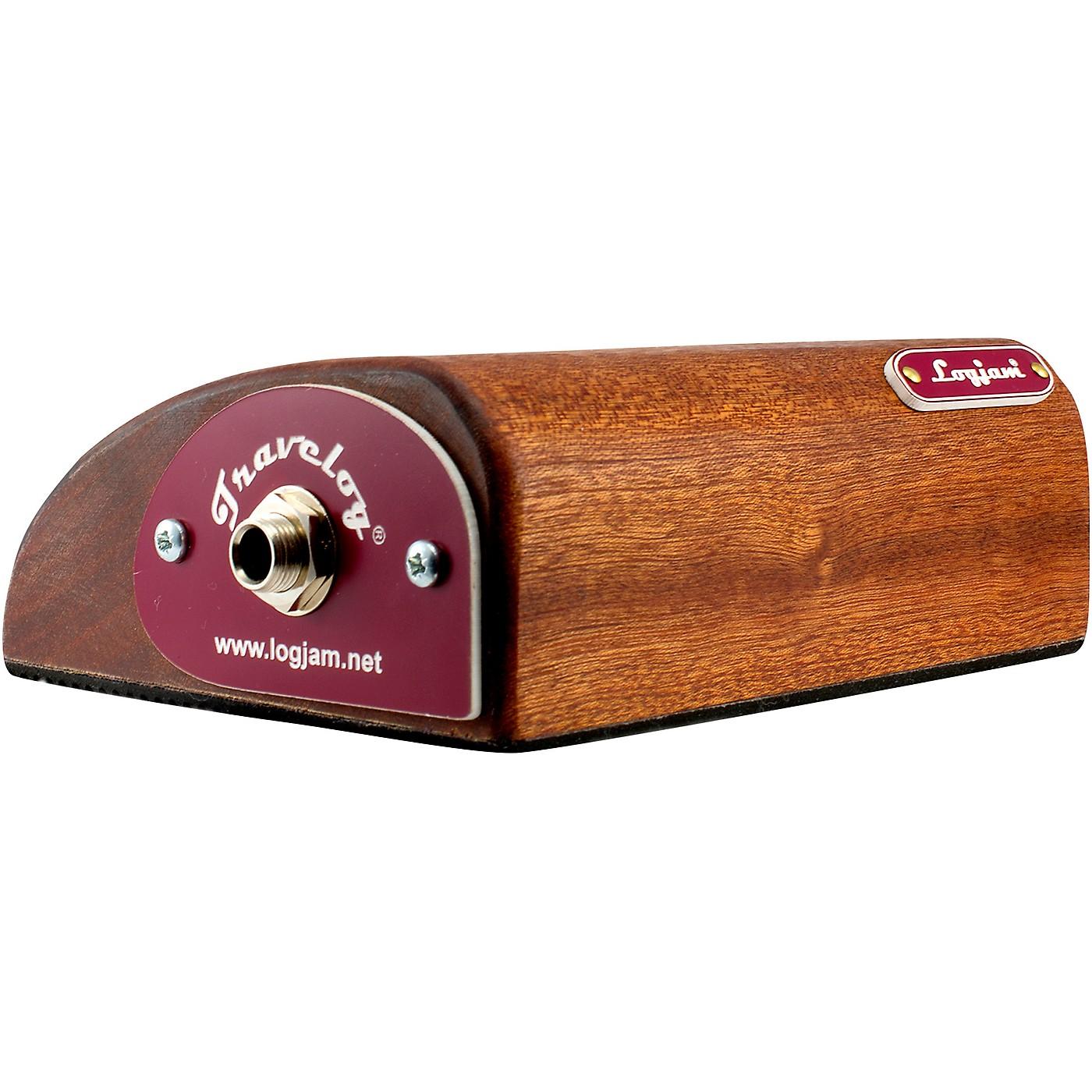 Logjam Bass Drum in a Box Travel Log Stomper thumbnail
