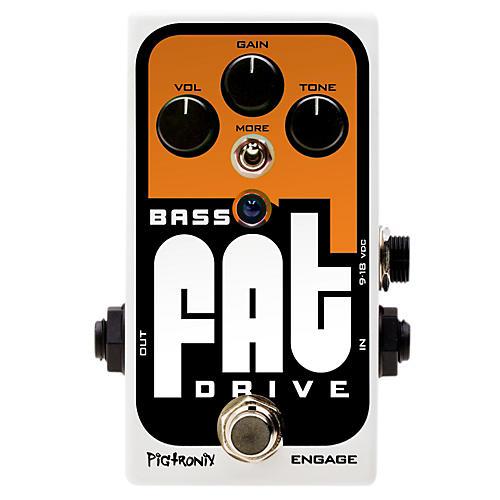 Pigtronix Bass Fat Drive Effects Pedal thumbnail