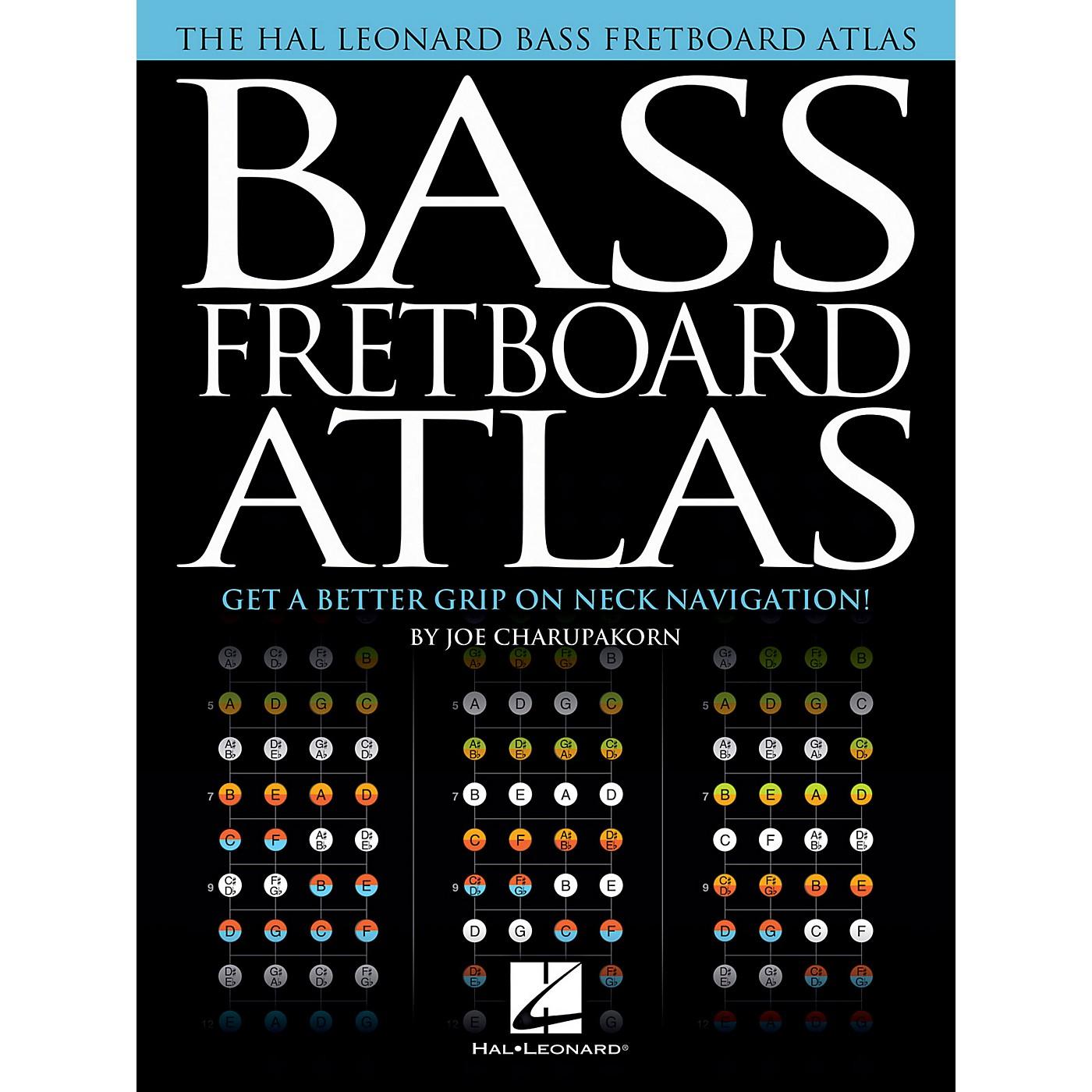 Hal Leonard Bass Fretboard Atlas - Get a Better Grip on Neck Navigation! thumbnail