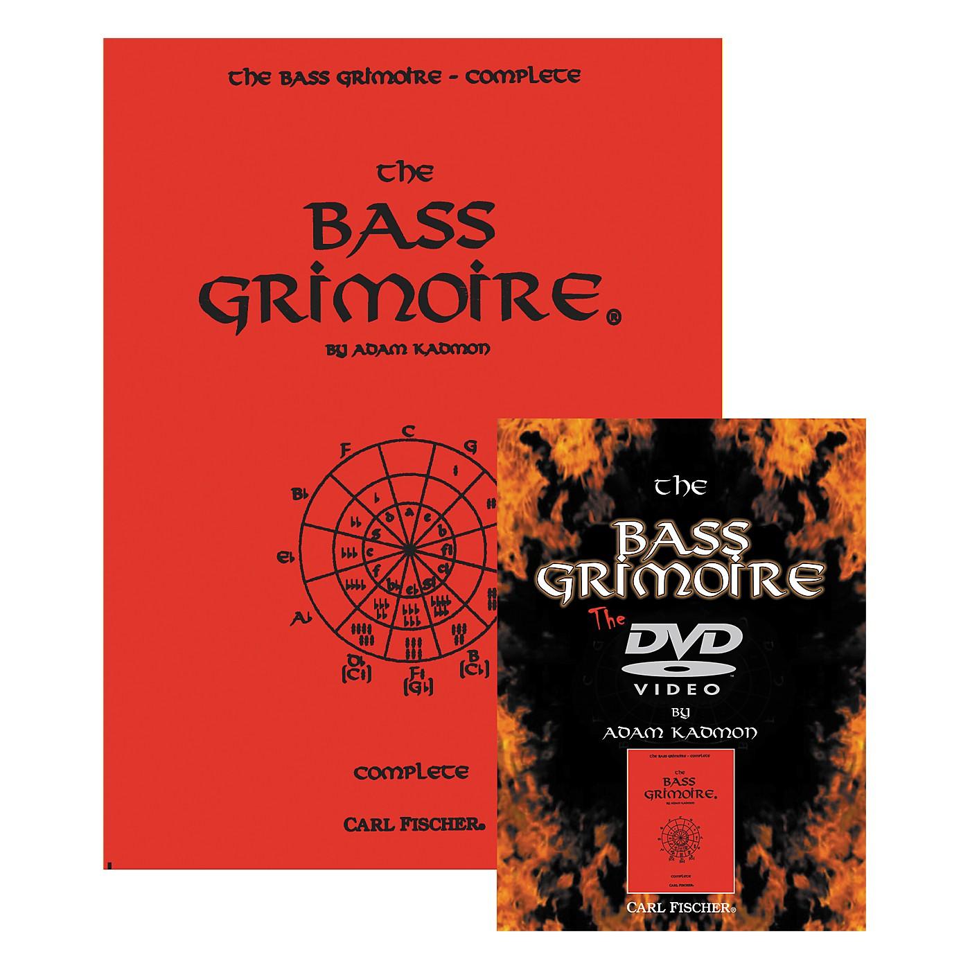 Carl Fischer Bass Grimoire Book & DVD Package thumbnail