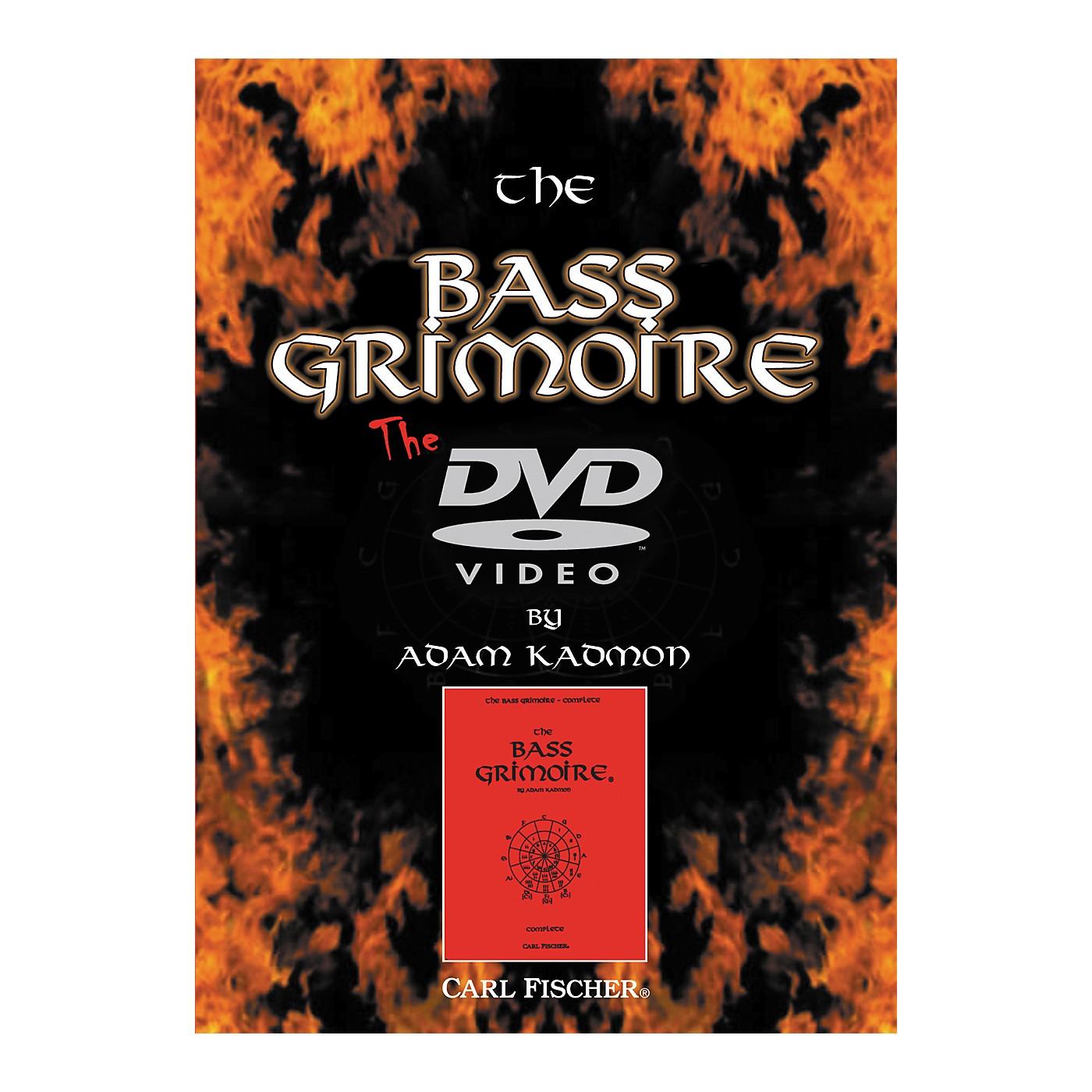 Carl Fischer Bass Grimoire DVD thumbnail