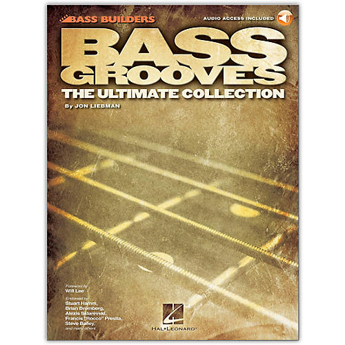 Hal Leonard Bass Grooves - The Ultimate Collection (Book/Online Audio) thumbnail