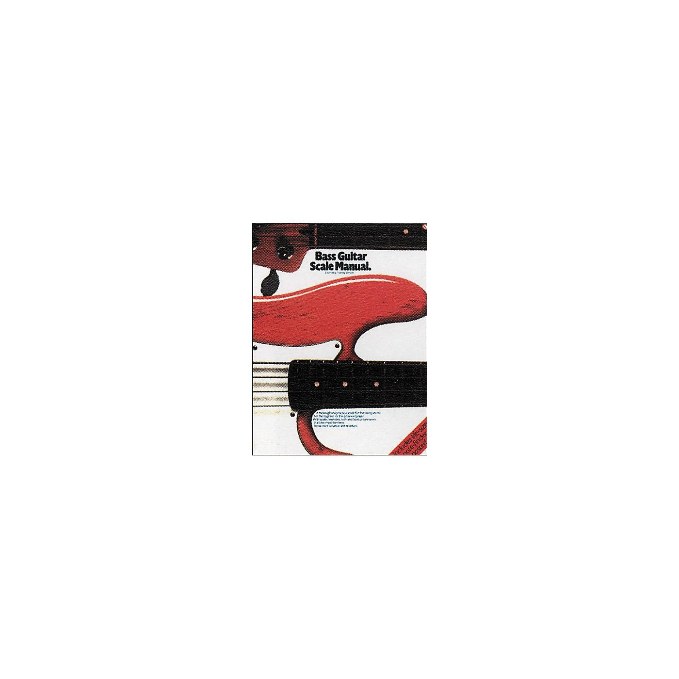 Music Sales Bass Guitar Scale Manual Book thumbnail