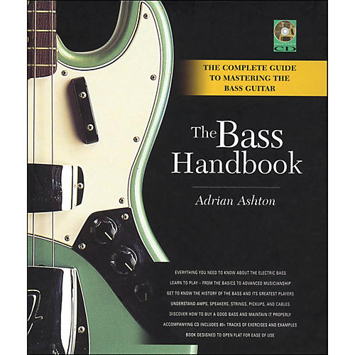 Backbeat Books Bass Handbook - A Complete Guide To Mastering The Bass Guitar thumbnail