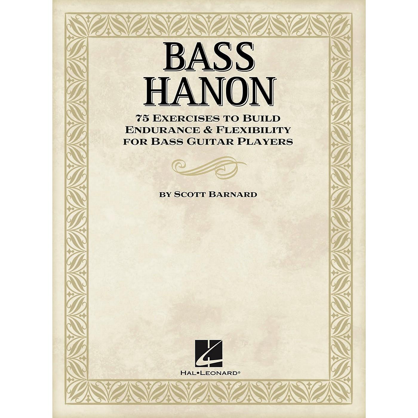 Hal Leonard Bass Hanon - 75 Exercises to Build Endurance and Flexibility for Bass Guitar Players thumbnail