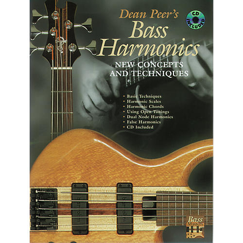 Alfred Bass Harmonics Book/CD thumbnail