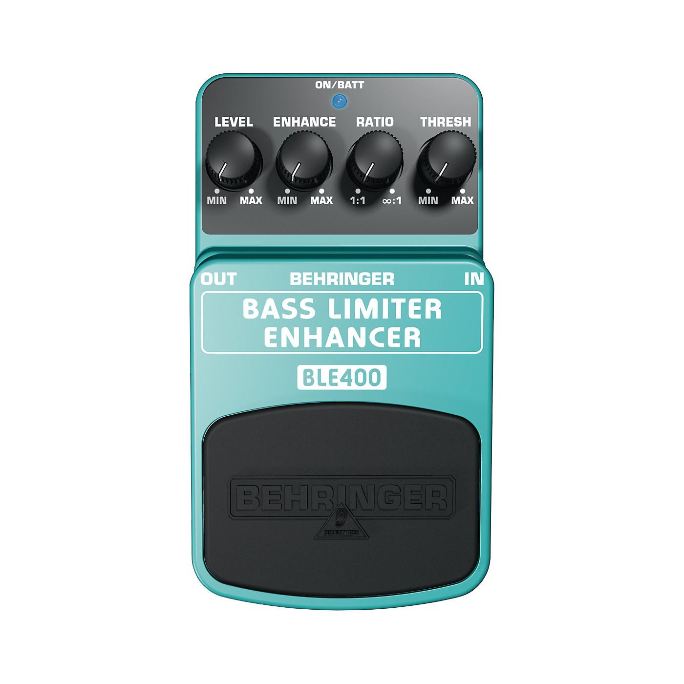 Behringer Bass Limiter Enhancer BLE400 Bass Effects Pedal thumbnail