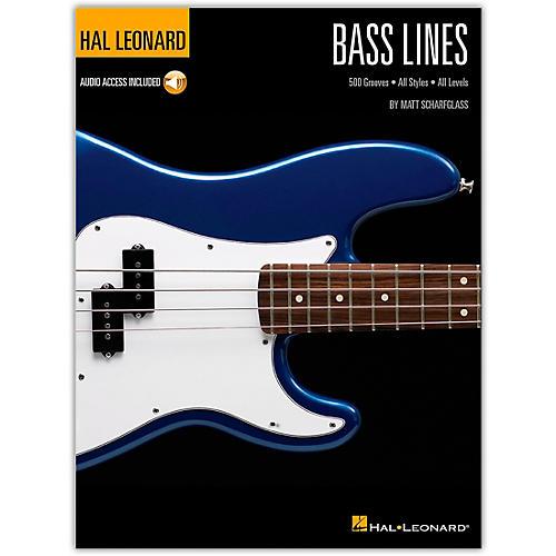 Hal Leonard Bass Lines - Hal Leonard Bass Method Book/Audio Online thumbnail