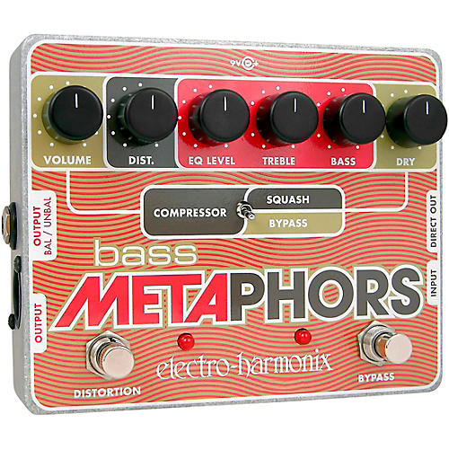 Electro-Harmonix Bass Metaphors Compressor Effects Pedal thumbnail