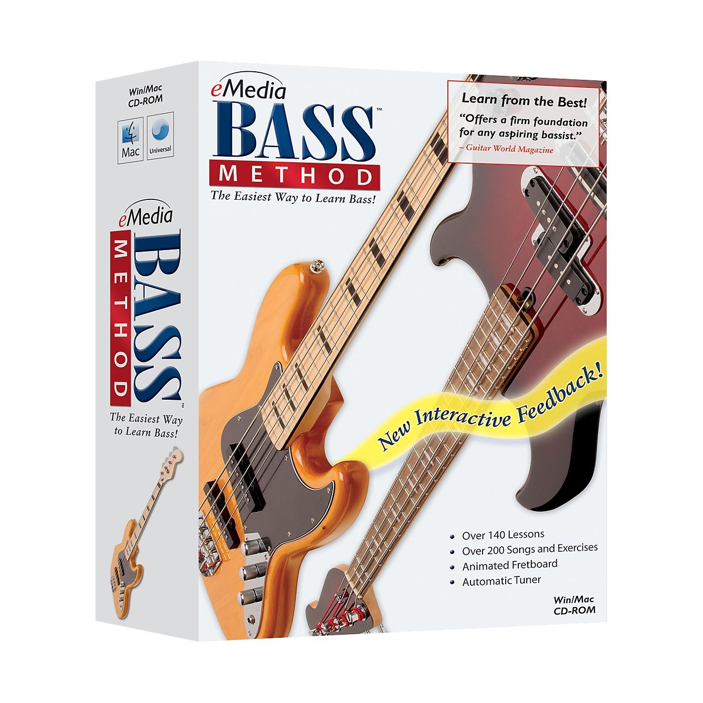 eMedia Bass Method 1 CD-ROM Version 2.0 thumbnail