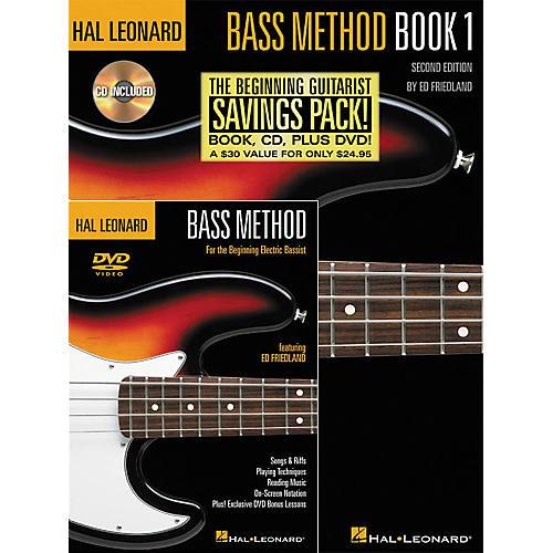 Hal Leonard Bass Method Beginner's Pack (Book/CD/DVD) thumbnail
