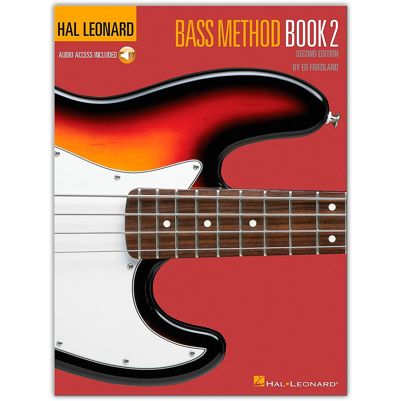 Hal Leonard Bass Method Book 2 - 2nd Edition (Book/Online Audio) thumbnail