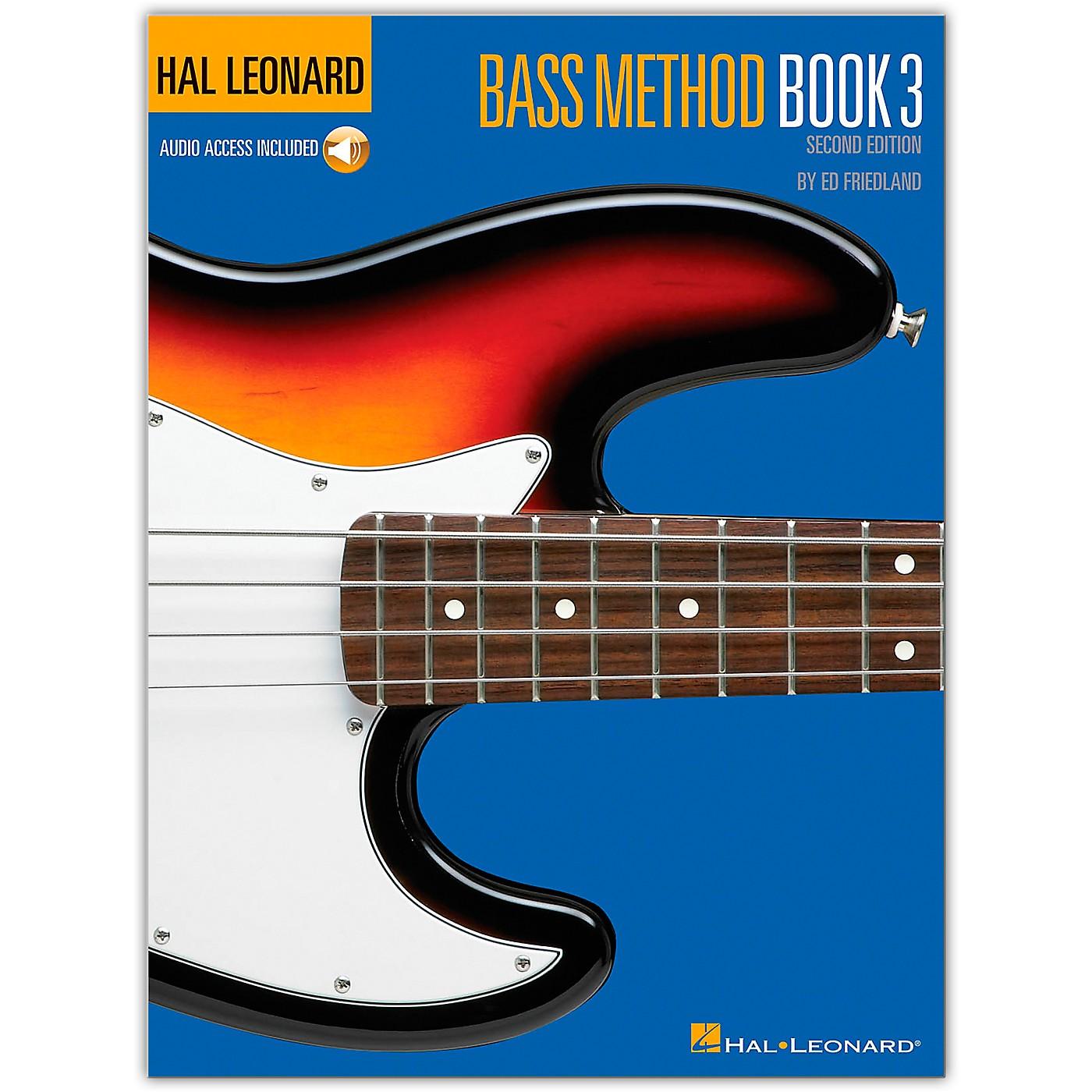 Hal Leonard Bass Method Book 3 - 2nd Edition (Book/Online Audio) thumbnail