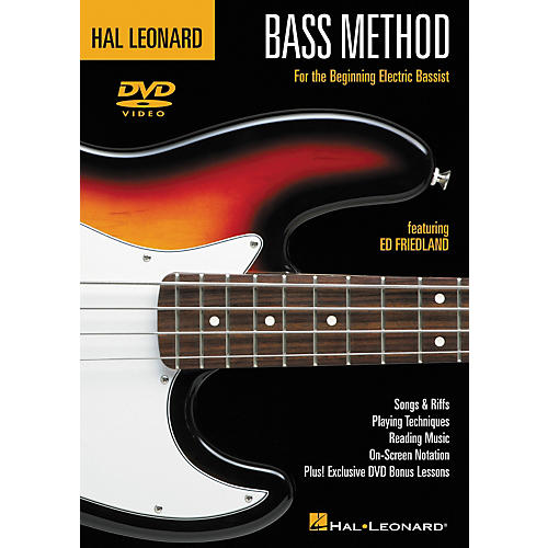 Hal Leonard Bass Method (DVD) thumbnail