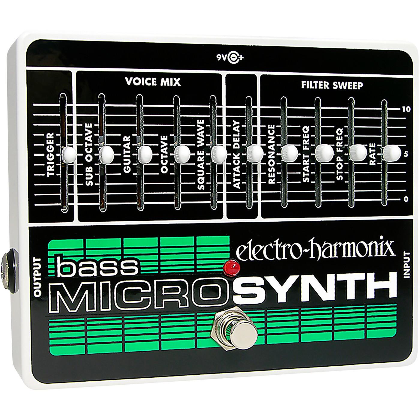 Electro-Harmonix Bass MicroSynth Effects Pedal thumbnail