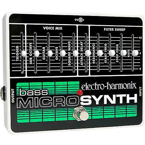 Electro-Harmonix Bass MicroSynth Effects Pedal thumbnail