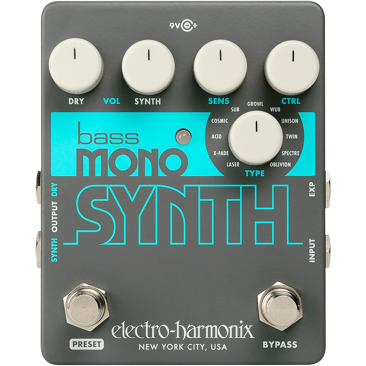 Electro-Harmonix Bass Mono Synth Bass Effects Pedal thumbnail