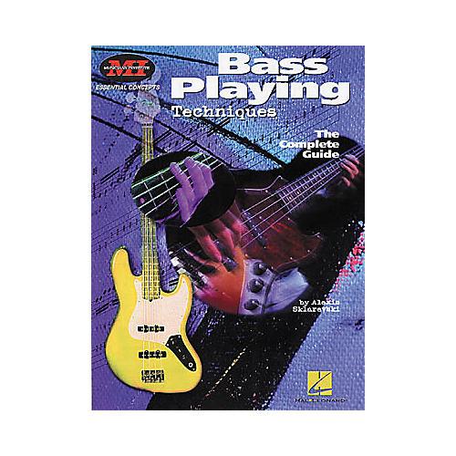 Hal Leonard Bass Playing Techniques Book thumbnail