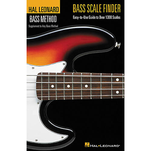 Hal Leonard Bass Scale Finder(Book) thumbnail