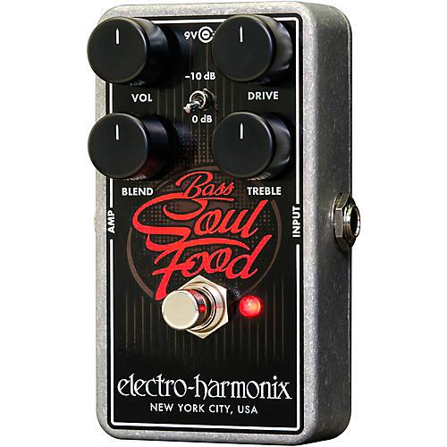 Electro-Harmonix Bass Soul Food Overdrive Effects Pedal thumbnail