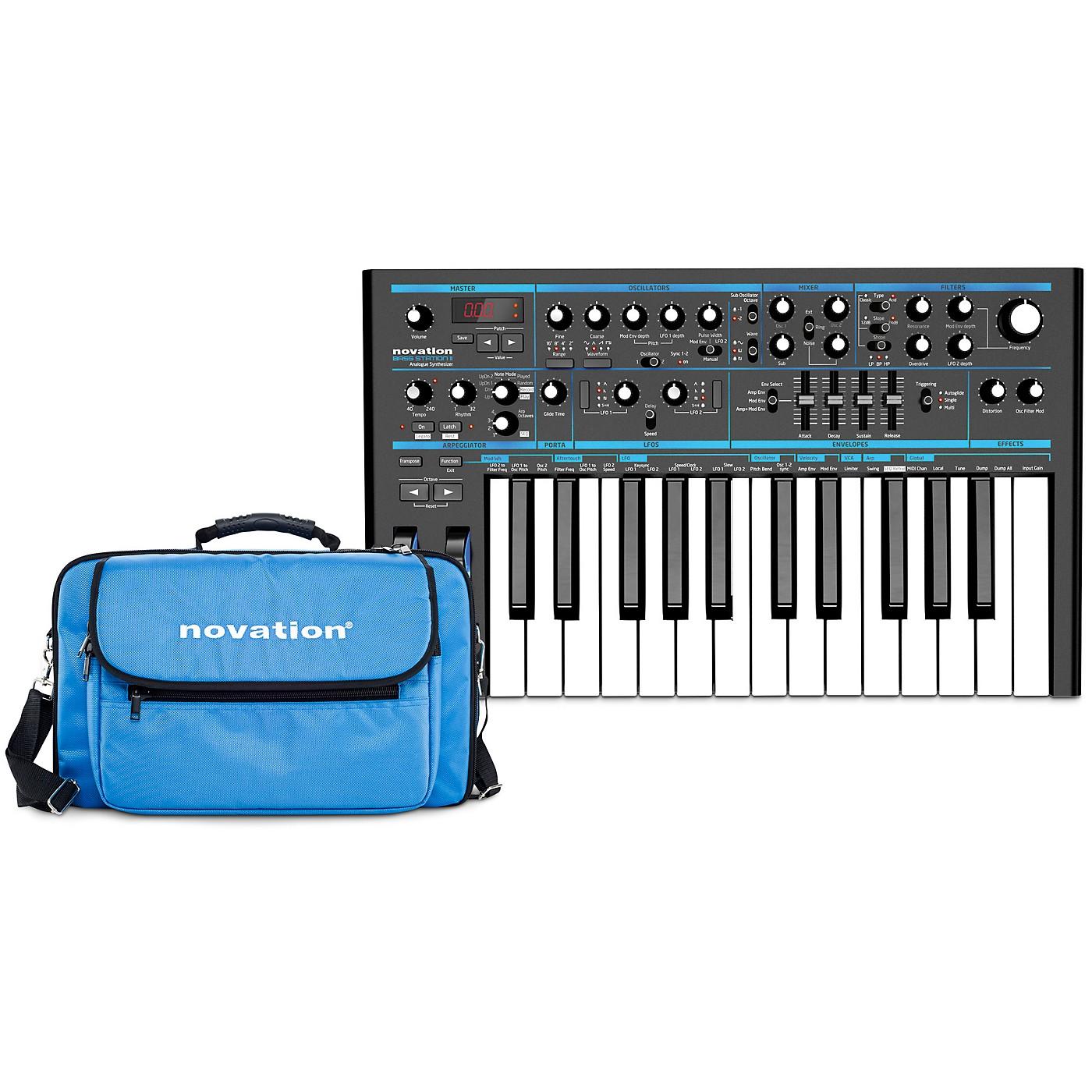 Novation Bass Station II Analog Synthesizer with Gig Bag thumbnail
