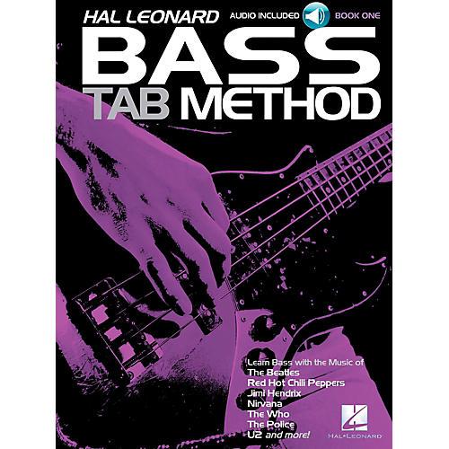 Hal Leonard Bass Tab Method Book 1 Book/CD thumbnail