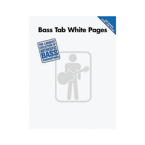 Hal Leonard Bass Tab White Pages Songbook thumbnail