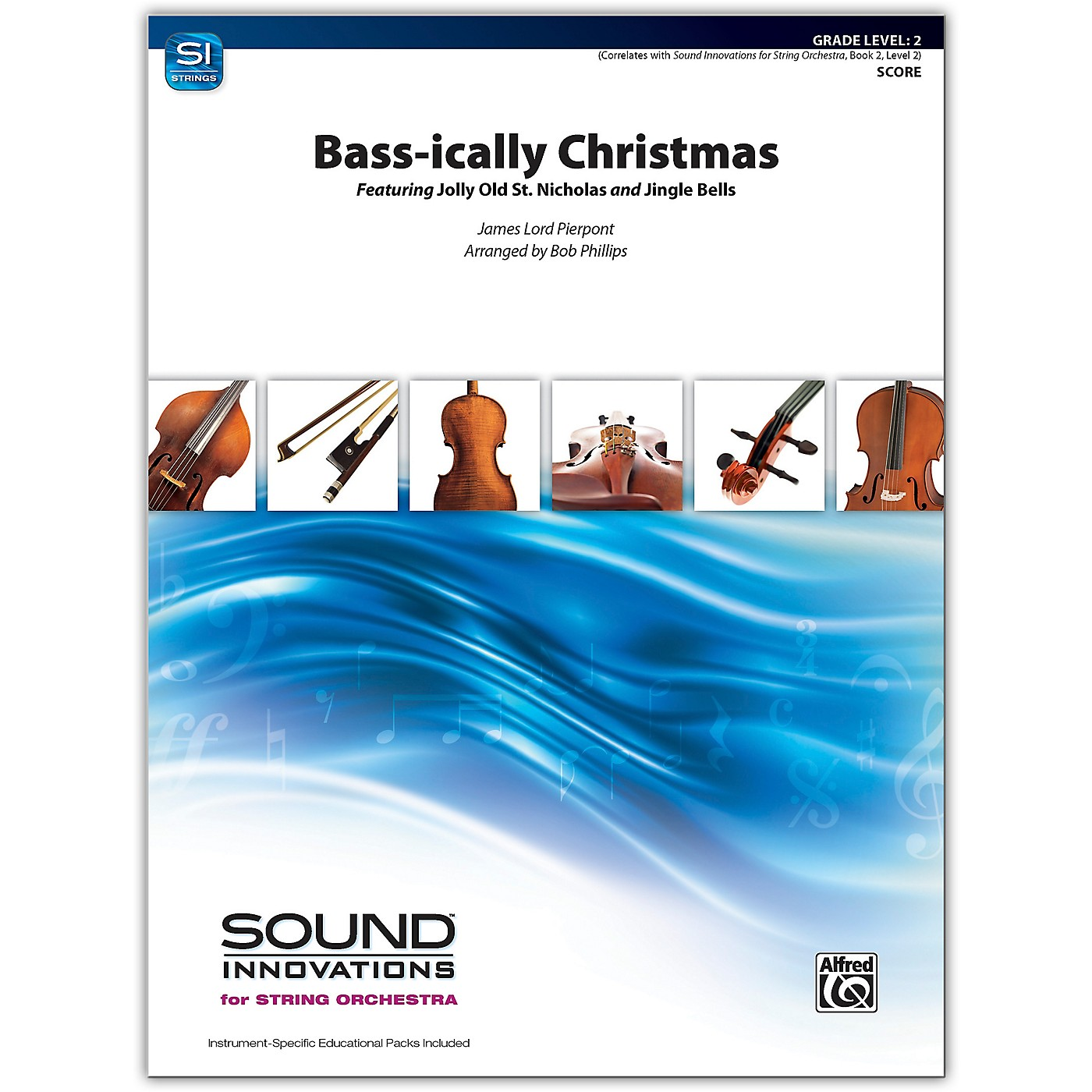 Alfred Bass-ically Christmas Conductor Score 2 thumbnail
