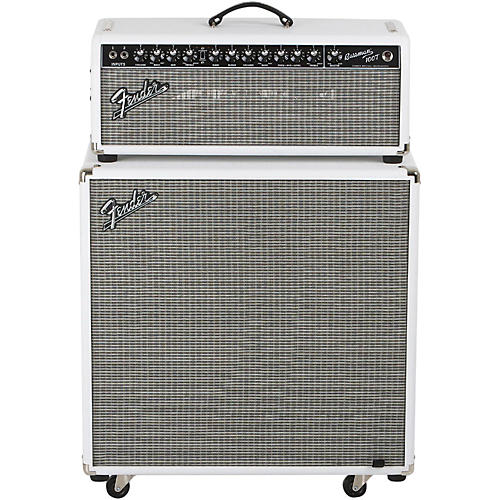 Fender Bassman Pro 100T 100W Tube Bass Head and 4x10 Neo Bass Cab thumbnail