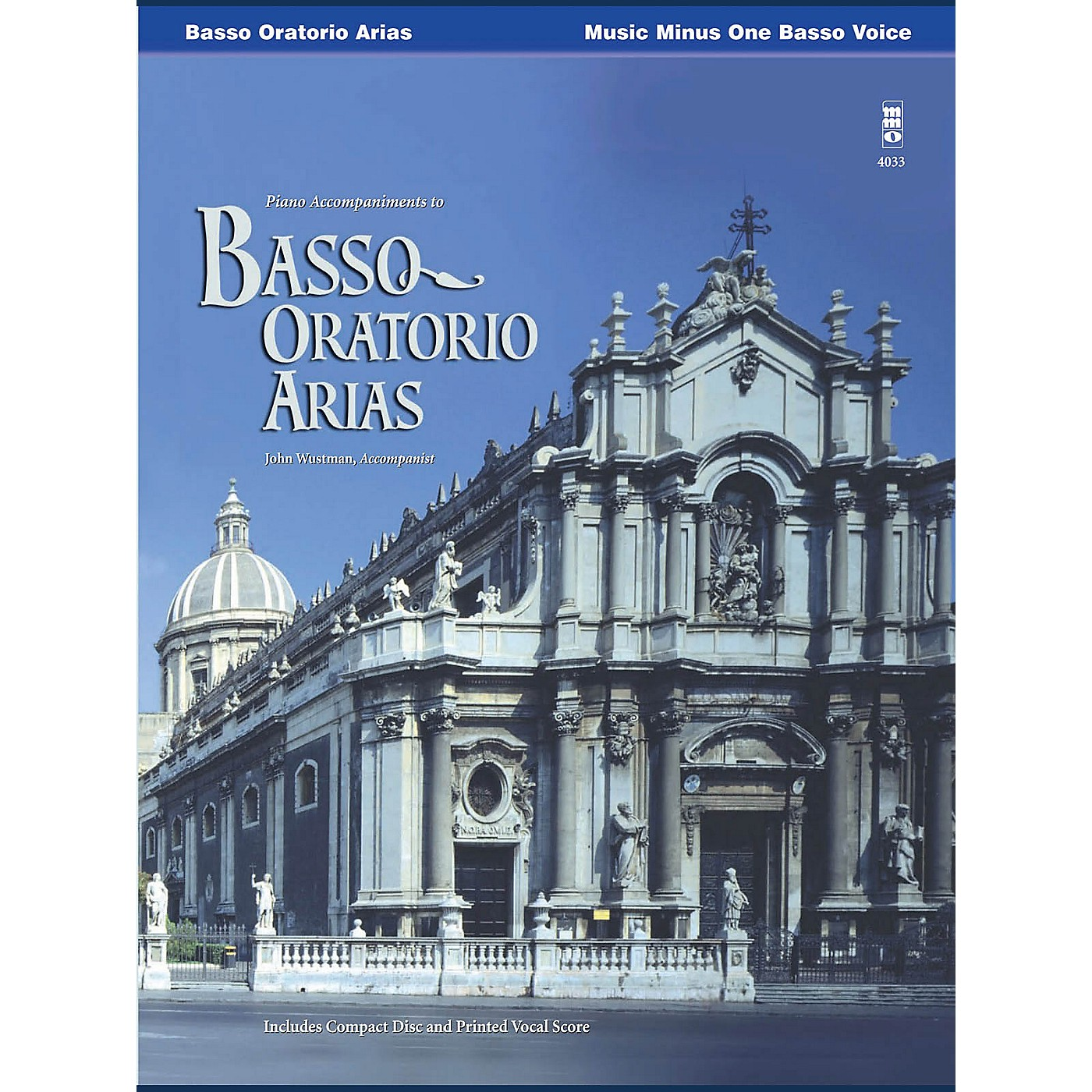 Music Minus One Basso Oratorio Arias Music Minus One Series Softcover with CD  by Various thumbnail