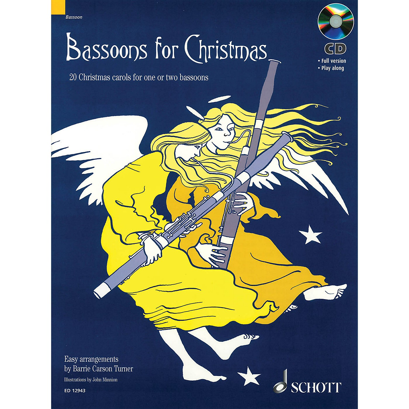 Schott Bassoons for Christmas Misc Series Softcover with CD thumbnail