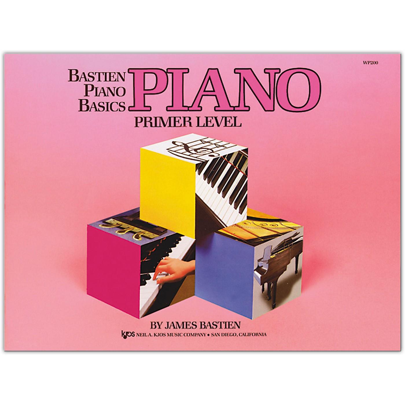 KJOS Bastien Piano Basics Piano Primer thumbnail