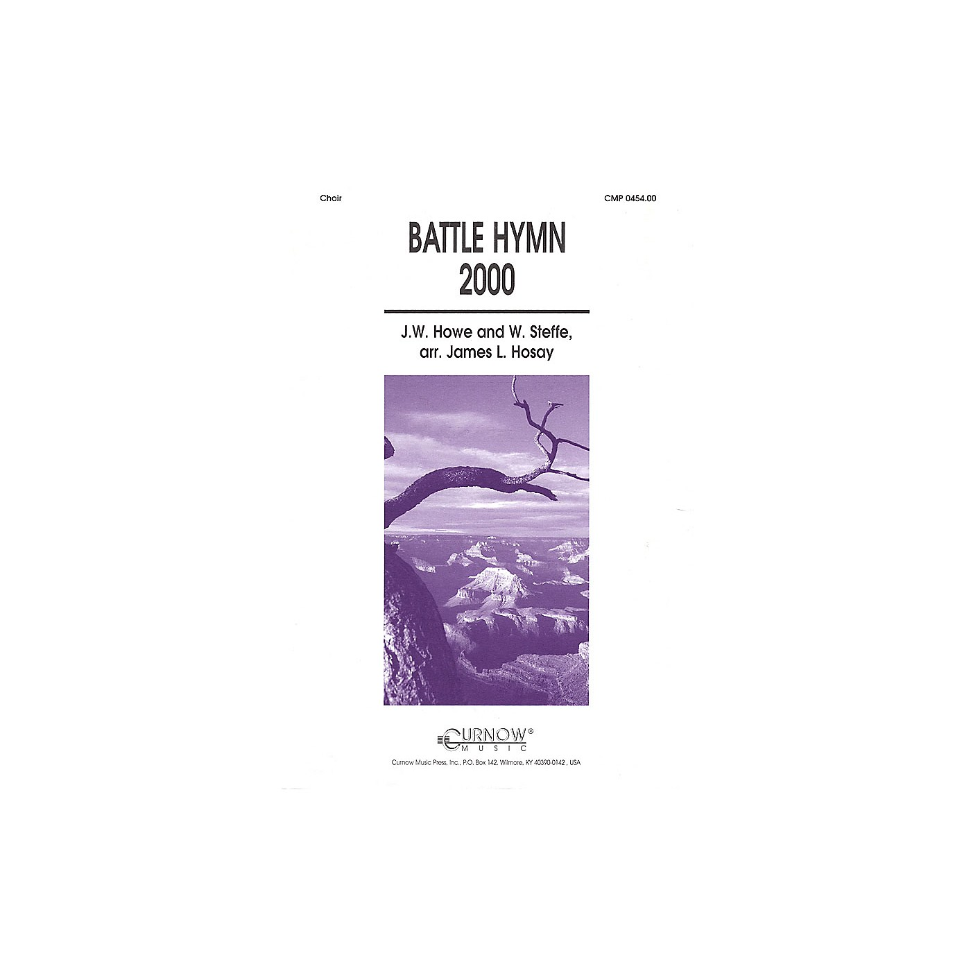 Curnow Music Battle Hymn 2000 (Grade 4 Concert Band with Choir) Concert Band Level 4 Composed by James L Hosay thumbnail