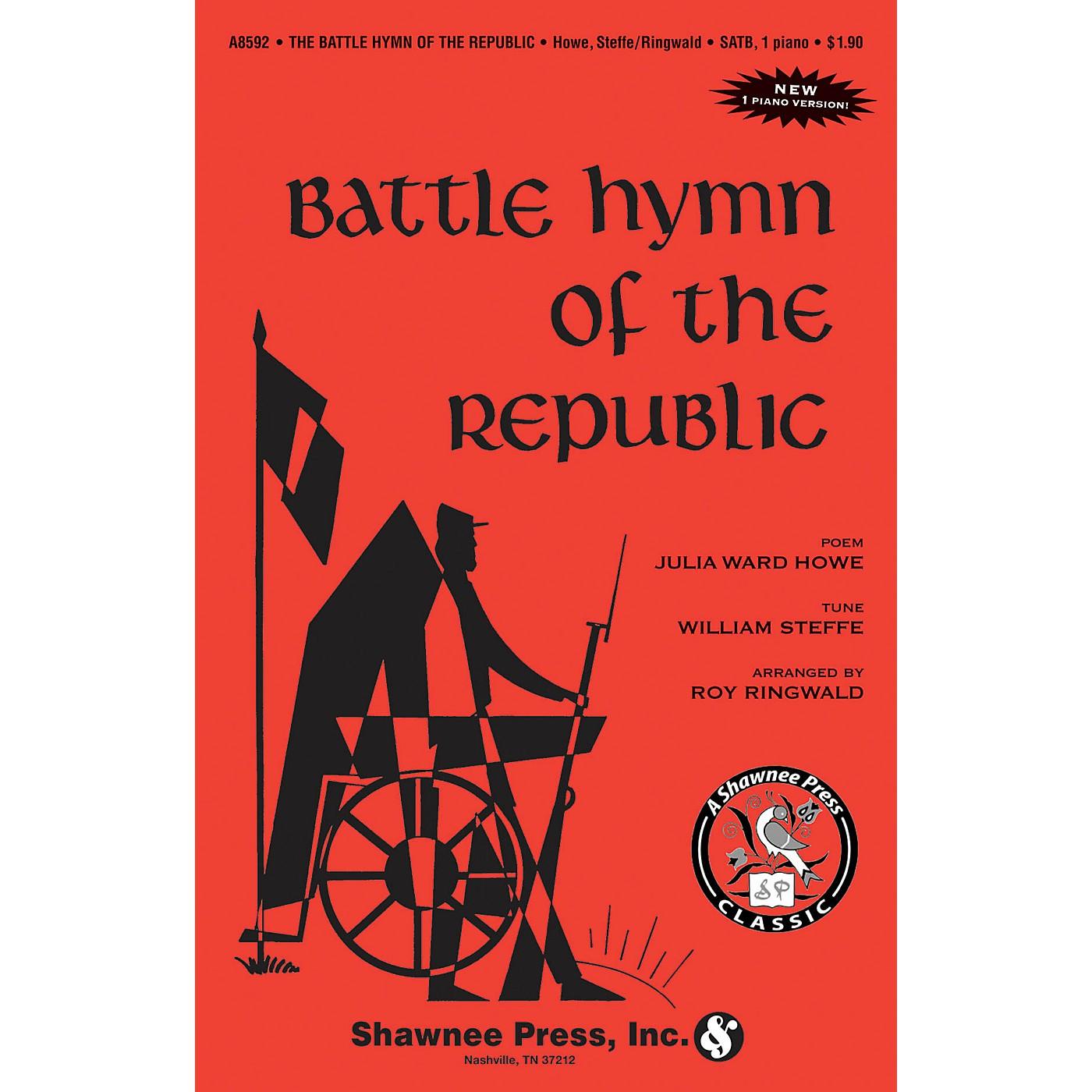 Shawnee Press Battle Hymn of the Republic 2-Part Arranged by Roy Ringwald thumbnail
