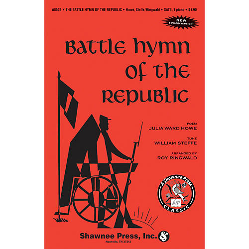 Shawnee Press Battle Hymn of the Republic 2-Part Arranged by Roy Ringwald thumbnail