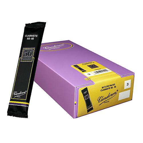 Vandoren Bb Clarinet 56 Rue Lepic Reed Box of 50-thumbnail