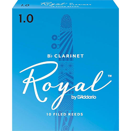Rico Royal Bb Clarinet Reeds, Box of 10 thumbnail