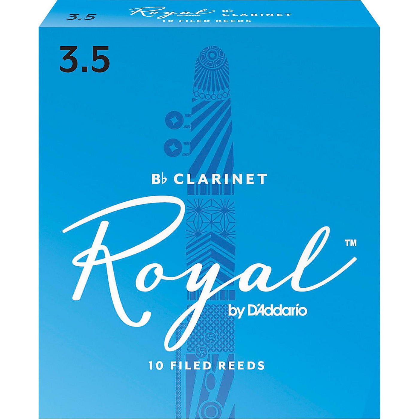 Rico Royal Bb Clarinet Reeds, Box of 10 thumbnail