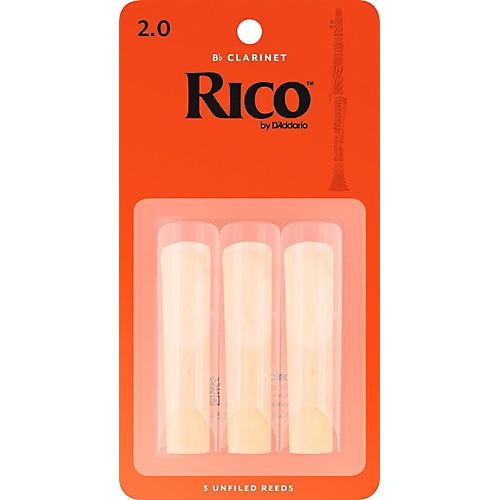 Rico Bb Clarinet Reeds, Box of 3 thumbnail