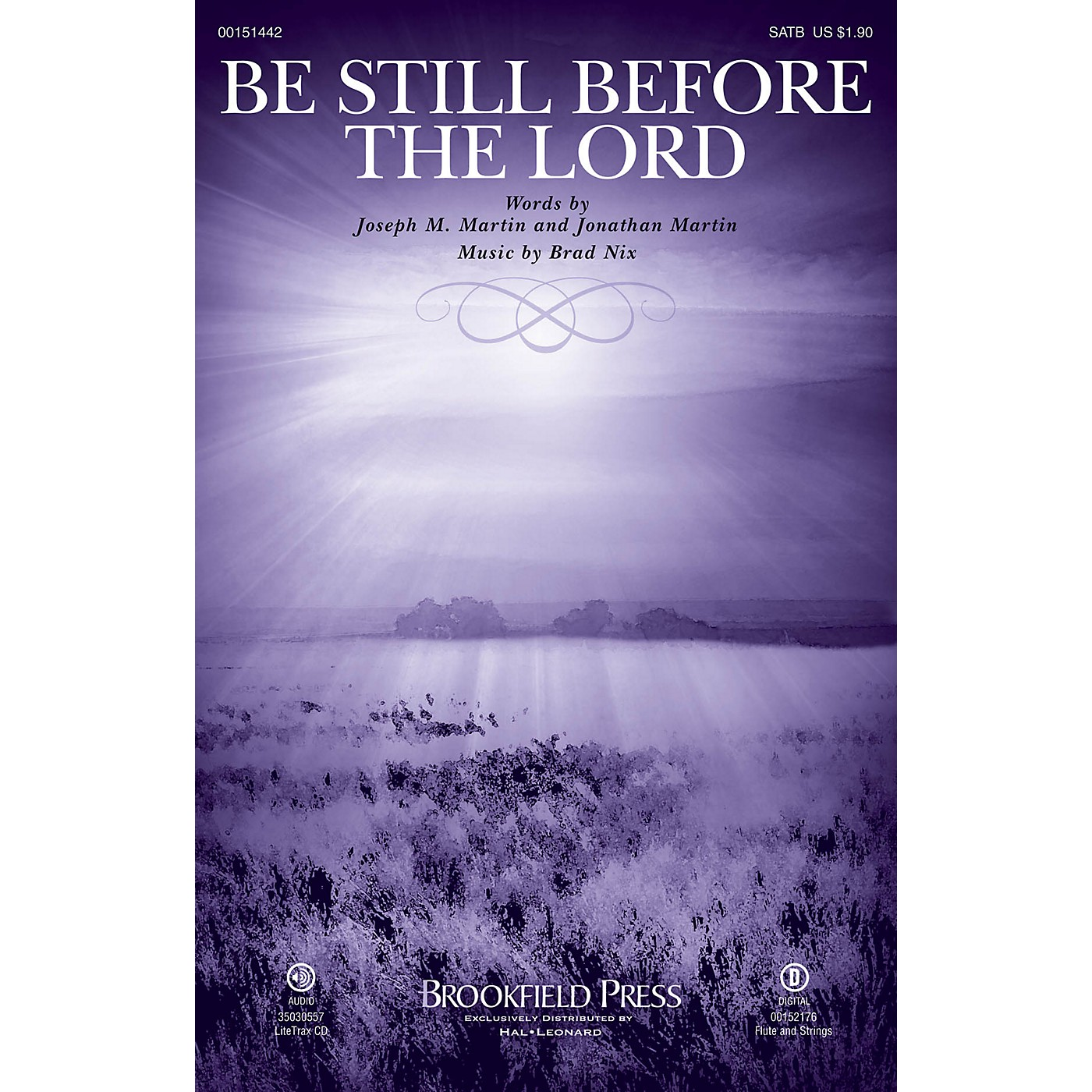 Brookfield Be Still Before the Lord SATB composed by Brad Nix thumbnail
