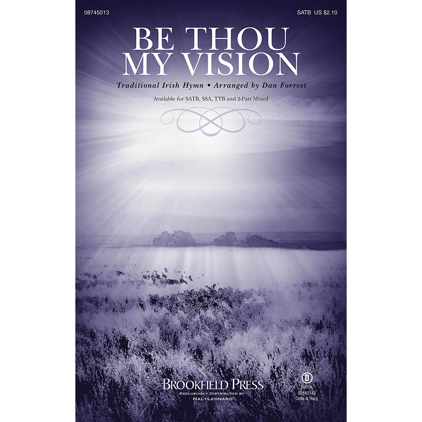 Brookfield Be Thou My Vision SATB arranged by Dan Forrest thumbnail